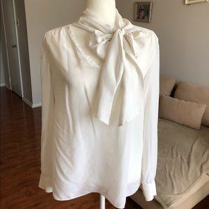 Ann Taylor 100 % silk blouse